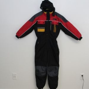 Jupa Sports Ski Suit Youth 12 One Piece Outfit Vtg